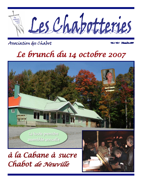 Chabotteries 01 | Association des Chabot