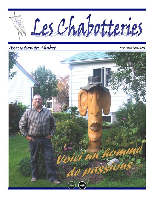 Chabotteries | Association des Chabot
