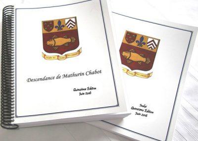 Répertoire généalogique des Chabot, 14e édition (2015)