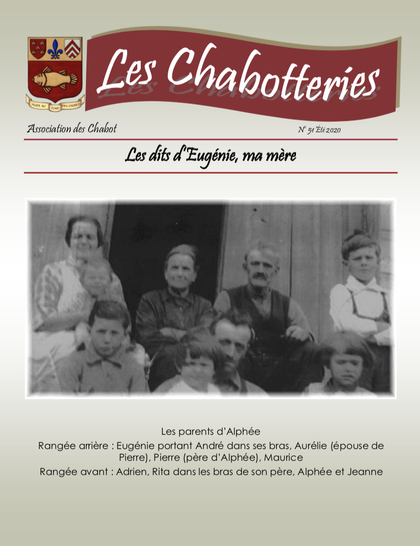 Chabotteries | Association des Chabot