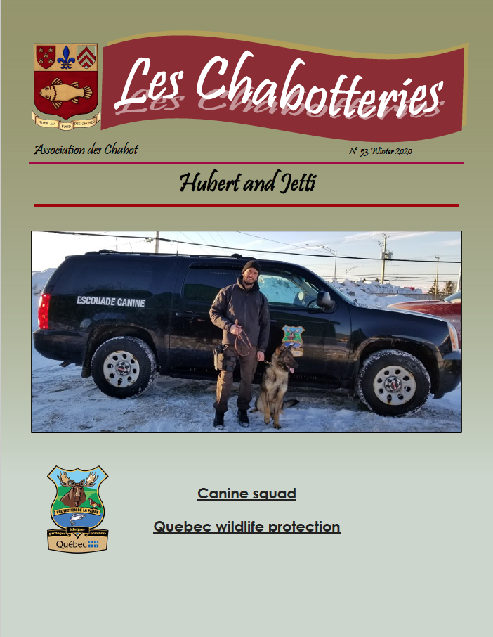 Cover Les Chabotteries - Issue 53