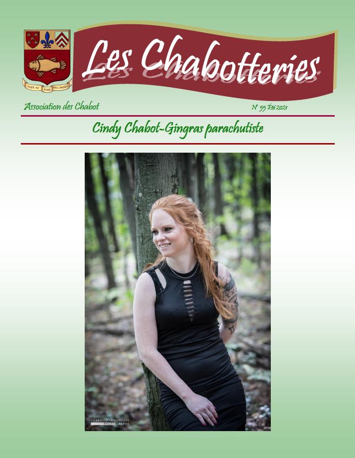 Couverture du numéro 55 des Chabotteries | Association des Chabot