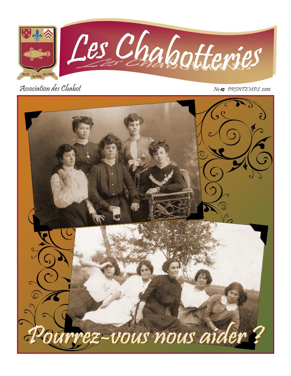 Les Chabotteries - Numéro 10 - Français