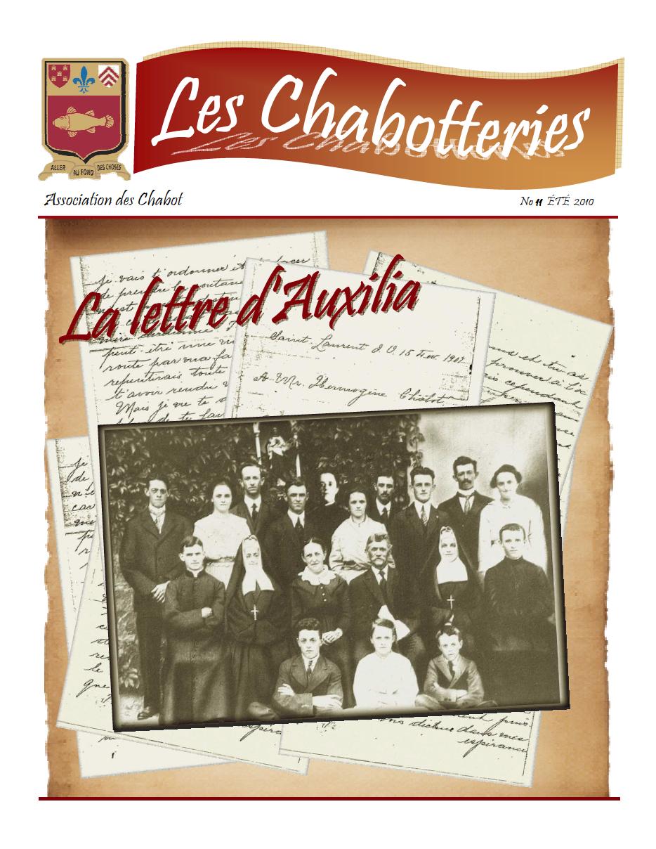 Les Chabotteries - Numéro 11 - Français