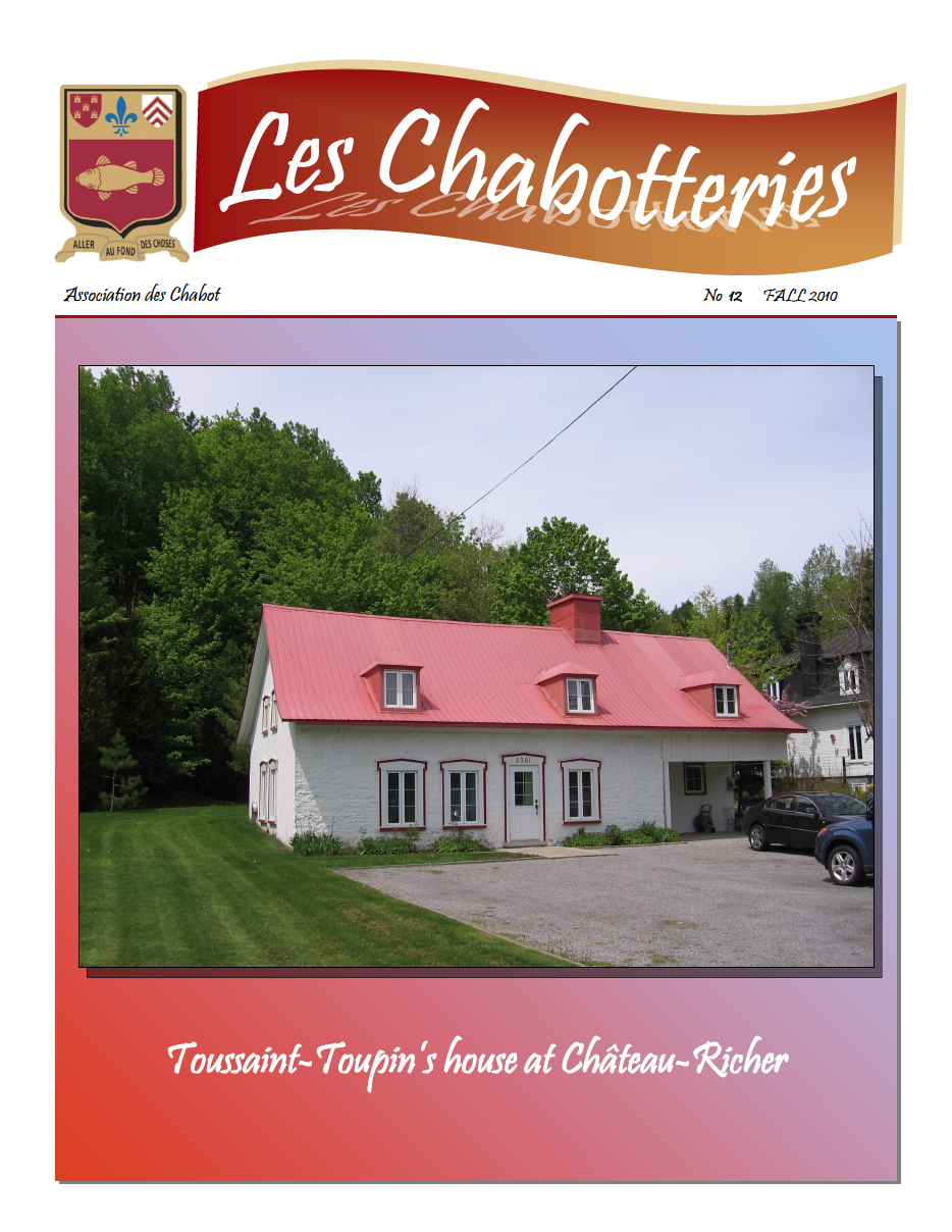 The Chabotteries - Issue 12 - English