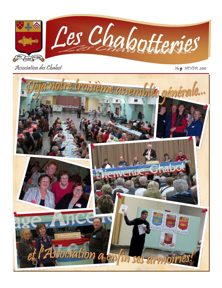 Les Chabotteries numéro 9 - Français