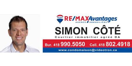 Simon Côté, Remax Avantages