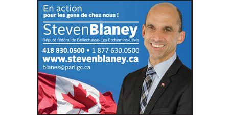 Steven Blaney, député fédéral