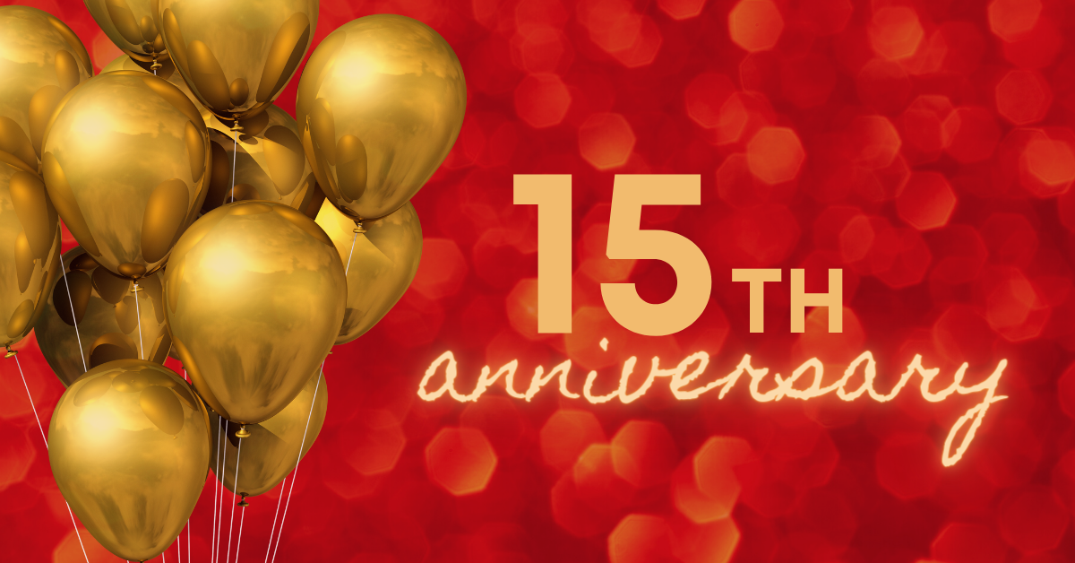 Celebrate the 15th anniversary of the Association with us in 2022