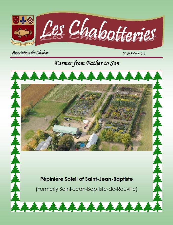 Chabotteries 56 - Autumn 2021
